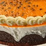 עוגת גבינה עם אוראו ופסיפלורה