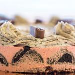 עוגת מוס תות גבינה ואוראו