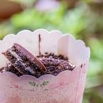 עוגות גבינה אישיות עם פירורי אוראו