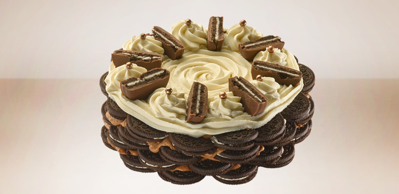 עוגת אוראו מוס שוקולד