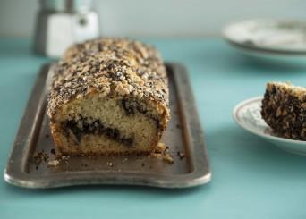 עוגה בחושה עם שקדים, קפה ועוגיות אוראו