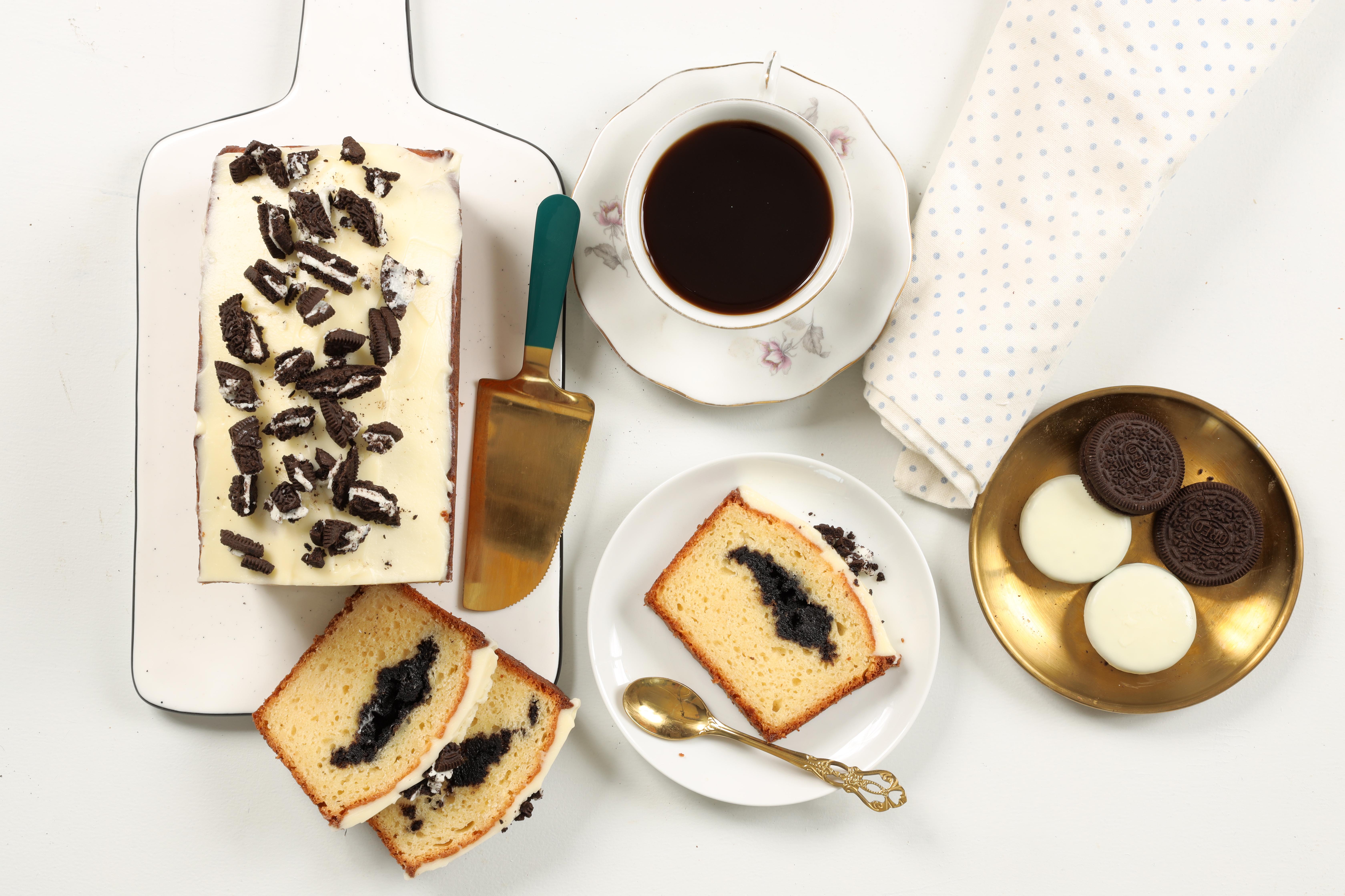 עוגה בחושה במילוי אוראו